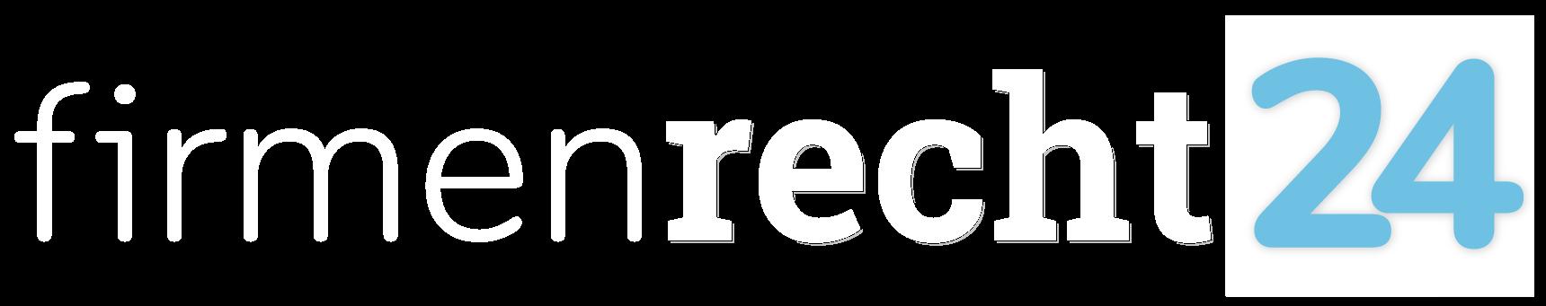 Firmenrecht24 - Logo